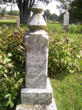 WEPPLER, ADAM - Tazewell County, Illinois | ADAM WEPPLER - Illinois Gravestone Photos