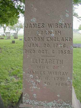 WIBRAY, JAMES - Tazewell County, Illinois | JAMES WIBRAY - Illinois Gravestone Photos