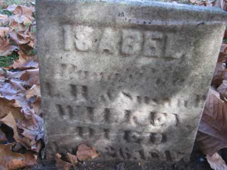 WILKEY, ISABEL - Tazewell County, Illinois | ISABEL WILKEY - Illinois Gravestone Photos
