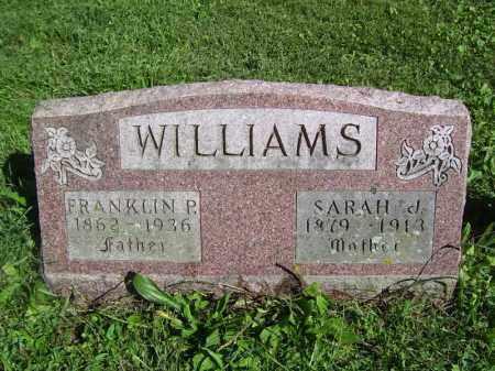 WILLIAMS, FRANKLIN P - Tazewell County, Illinois | FRANKLIN P WILLIAMS - Illinois Gravestone Photos