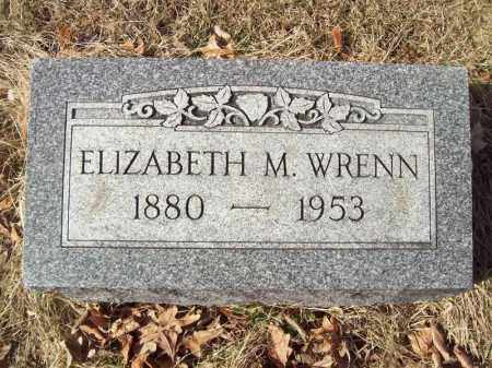 WRENN, ELIZABETH M - Tazewell County, Illinois | ELIZABETH M WRENN - Illinois Gravestone Photos