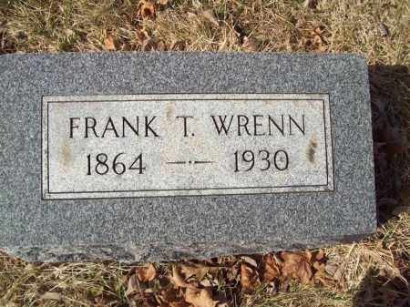 WRENN, FRANK T - Tazewell County, Illinois | FRANK T WRENN - Illinois Gravestone Photos