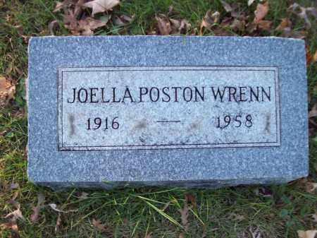 WRENN, JOELLA POSTON - Tazewell County, Illinois | JOELLA POSTON WRENN - Illinois Gravestone Photos