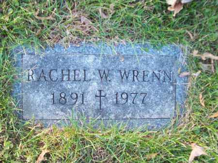 WRENN, RACHEL W - Tazewell County, Illinois | RACHEL W WRENN - Illinois Gravestone Photos