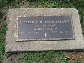 LONGFELLOW, RICHARD - Vermilion County, Illinois | RICHARD LONGFELLOW - Illinois Gravestone Photos