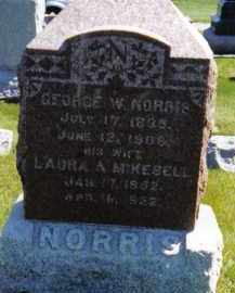 NORRIS, LAURA A. - Warren County, Illinois | LAURA A. NORRIS - Illinois Gravestone Photos