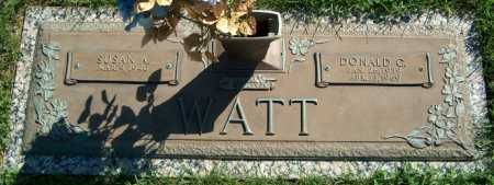 WATT, DONALD G. - Warren County, Illinois | DONALD G. WATT - Illinois Gravestone Photos