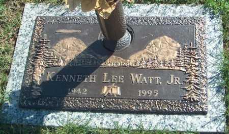 WATT, JR., KENNETH LEE - Warren County, Illinois | KENNETH LEE WATT, JR. - Illinois Gravestone Photos