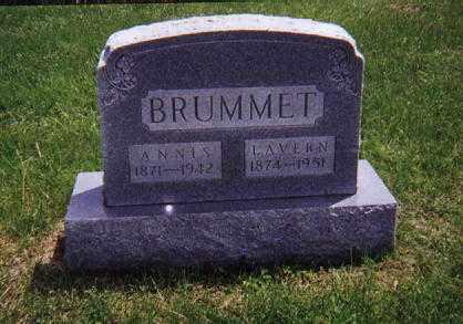 ROGERS BRUMMET, ANNIS AMANDA - Wayne County, Illinois   ANNIS AMANDA ROGERS BRUMMET - Illinois Gravestone Photos