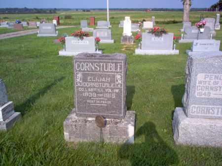 CORNSTUBLE, ELIJAH - Wayne County, Illinois | ELIJAH CORNSTUBLE - Illinois Gravestone Photos