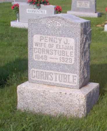 CORNSTUBLE, PENCY J - Wayne County, Illinois | PENCY J CORNSTUBLE - Illinois Gravestone Photos