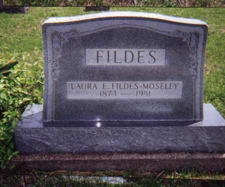HOSSELTON FILDES-MOSELEY, LAURA EVA - Wayne County, Illinois | LAURA EVA HOSSELTON FILDES-MOSELEY - Illinois Gravestone Photos