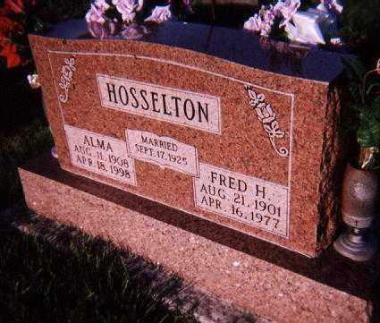 HOSSELTON, FRED H. - Wayne County, Illinois | FRED H. HOSSELTON - Illinois Gravestone Photos