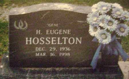 HOSSELTON, HAROLD EUGENE - Wayne County, Illinois | HAROLD EUGENE HOSSELTON - Illinois Gravestone Photos