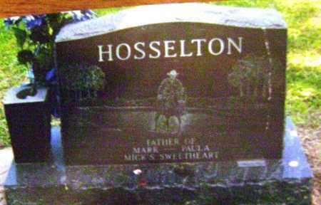 HOSSELTON, HAROLD EUGENE - Wayne County, Illinois   HAROLD EUGENE HOSSELTON - Illinois Gravestone Photos