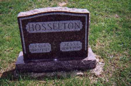 HOSSELTON, JESSE - Wayne County, Illinois | JESSE HOSSELTON - Illinois Gravestone Photos