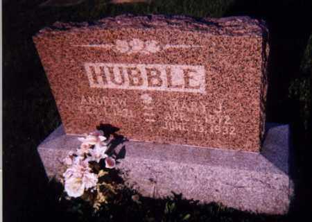 HOSSELTON HUBBLE, MARY JANNETTA - Wayne County, Illinois | MARY JANNETTA HOSSELTON HUBBLE - Illinois Gravestone Photos