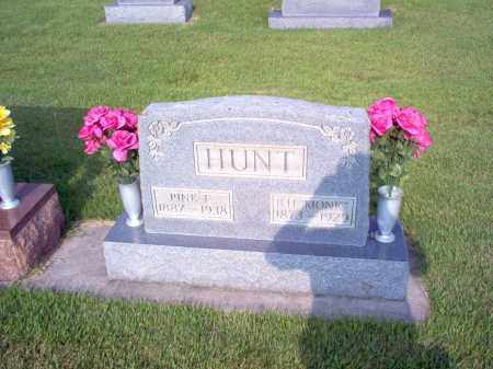 HUNT, PINKKIE E - Wayne County, Illinois | PINKKIE E HUNT - Illinois Gravestone Photos