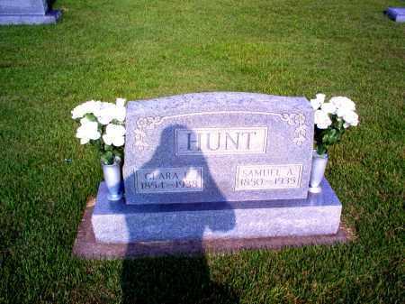HUNT, CLARA ELIZABETH - Wayne County, Illinois | CLARA ELIZABETH HUNT - Illinois Gravestone Photos