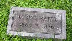 BATES, LORING - Whiteside County, Illinois | LORING BATES - Illinois Gravestone Photos