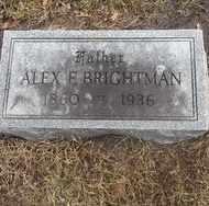 BRIGHTMAN, ALEX E. - Whiteside County, Illinois | ALEX E. BRIGHTMAN - Illinois Gravestone Photos
