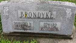 BRONDYKE, DOROTHY W. - Whiteside County, Illinois | DOROTHY W. BRONDYKE - Illinois Gravestone Photos