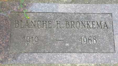 BRONKEMA, BLANCHE - Whiteside County, Illinois | BLANCHE BRONKEMA - Illinois Gravestone Photos