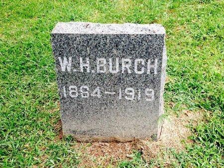 BURCH, W - Whiteside County, Illinois | W BURCH - Illinois Gravestone Photos