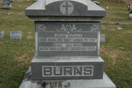 BURNS, JOHN - Whiteside County, Illinois | JOHN BURNS - Illinois Gravestone Photos