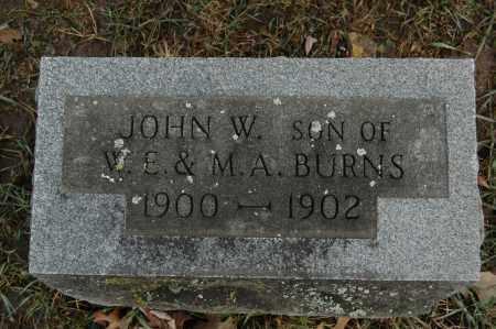 BURNS, JOHN W. - Whiteside County, Illinois | JOHN W. BURNS - Illinois Gravestone Photos