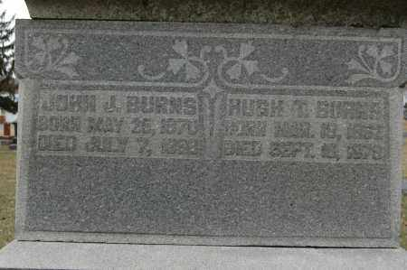 BURNS, HUGH T. - Whiteside County, Illinois | HUGH T. BURNS - Illinois Gravestone Photos