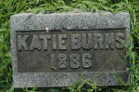 BURNS, KATIE - Whiteside County, Illinois | KATIE BURNS - Illinois Gravestone Photos