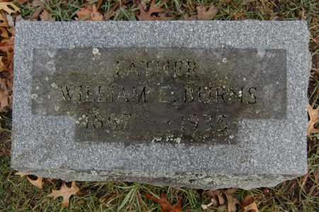 BURNS, WILLAIM E. - Whiteside County, Illinois | WILLAIM E. BURNS - Illinois Gravestone Photos