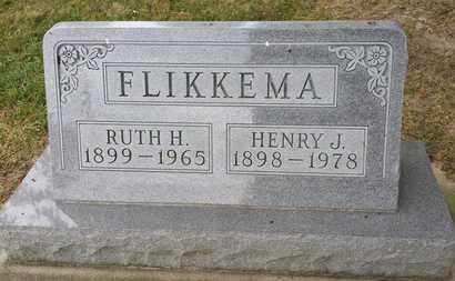 FLIKKEMA, HENRY - Whiteside County, Illinois | HENRY FLIKKEMA - Illinois Gravestone Photos