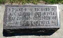 KAMPHUIS, RICHARD - Whiteside County, Illinois | RICHARD KAMPHUIS - Illinois Gravestone Photos