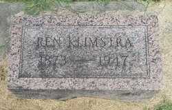 KLIMSTRA, REN - Whiteside County, Illinois | REN KLIMSTRA - Illinois Gravestone Photos