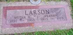 LARSON, FRANK - Whiteside County, Illinois | FRANK LARSON - Illinois Gravestone Photos