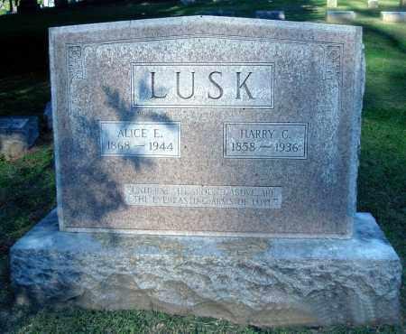 LUSK, ALICE E. - Whiteside County, Illinois | ALICE E. LUSK - Illinois Gravestone Photos