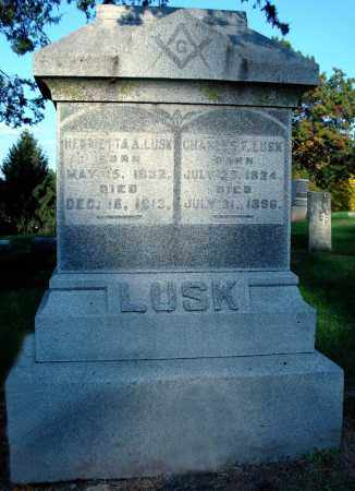 LUSK, CHARLES F. - Whiteside County, Illinois | CHARLES F. LUSK - Illinois Gravestone Photos