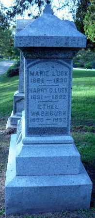 LUSK, HARRY C. - Whiteside County, Illinois | HARRY C. LUSK - Illinois Gravestone Photos