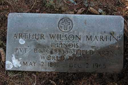 MARTIN, ARTHUR WILSON - Whiteside County, Illinois   ARTHUR WILSON MARTIN - Illinois Gravestone Photos