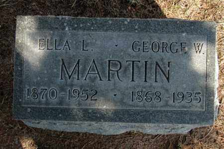 MARTIN, ELLA L. - Whiteside County, Illinois | ELLA L. MARTIN - Illinois Gravestone Photos