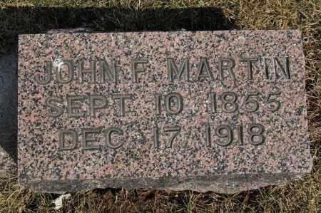 MARTIN, JOHN F. - Whiteside County, Illinois   JOHN F. MARTIN - Illinois Gravestone Photos