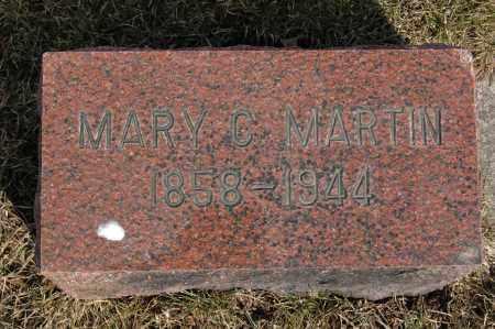 MARTIN, MARY C. - Whiteside County, Illinois | MARY C. MARTIN - Illinois Gravestone Photos