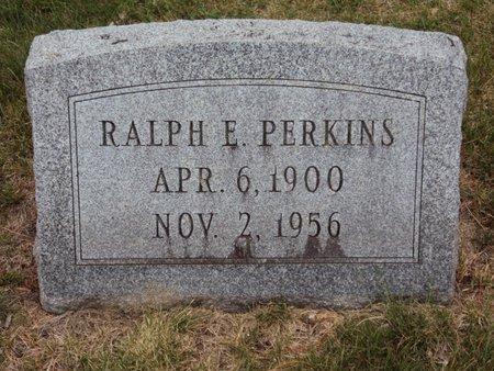 PERKINS, RALPH E. - Whiteside County, Illinois   RALPH E. PERKINS - Illinois Gravestone Photos