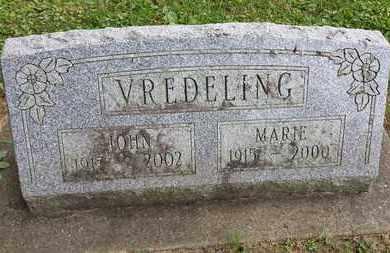 VREDELING, JOHN - Whiteside County, Illinois | JOHN VREDELING - Illinois Gravestone Photos