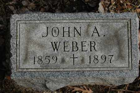 WEBER, JOHN A. - Whiteside County, Illinois | JOHN A. WEBER - Illinois Gravestone Photos