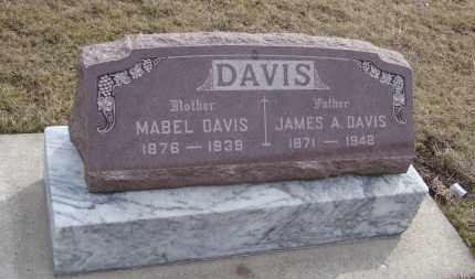 DAVIS, JAMES A. - Will County, Illinois | JAMES A. DAVIS - Illinois Gravestone Photos