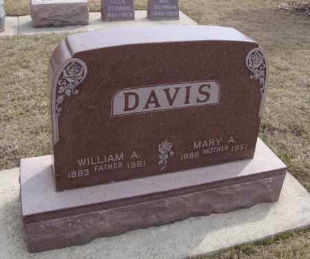 DAVIS, MARY A. - Will County, Illinois | MARY A. DAVIS - Illinois Gravestone Photos