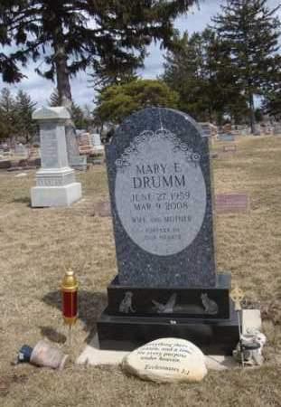 DRUMM, MARY E. - Will County, Illinois | MARY E. DRUMM - Illinois Gravestone Photos